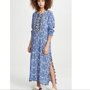 ROLLER RABIT SELINA MAXI DRESS IN COBALT BLUE S